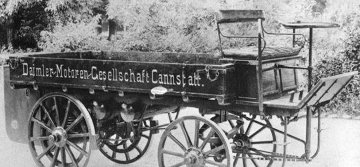Världens första lastbil