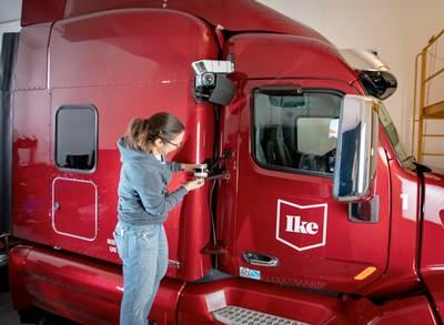 Nytt kapital för förarlösa lastbilar
