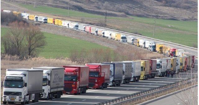 Ökade godsmängder betyder ökat antal lastbilar