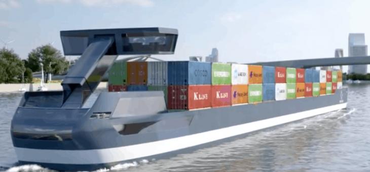 Inlandsfartyg istället för lastbilar