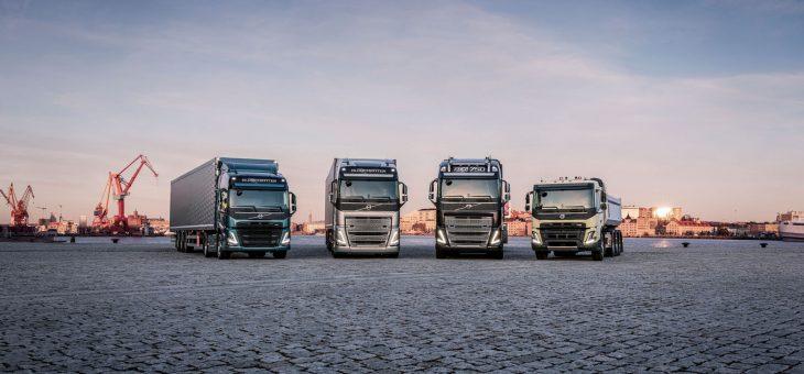 4 nya lastbilsmodeller från Volvo