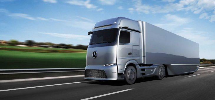 Premiär för eldriven lastbil från Mercedes Benz Trucks